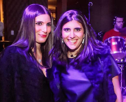 As sisters Duda e Sofia Derani