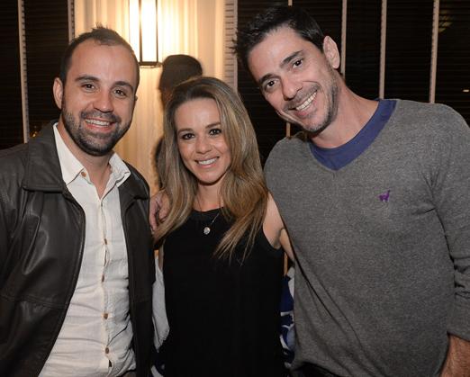 Bruno Bento, Rachel Coppola e Guedes Rodrigues