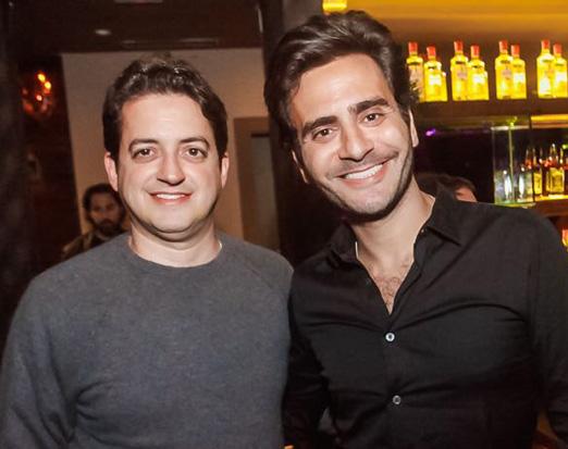 Carlos Jereissati Filho e Sergio K