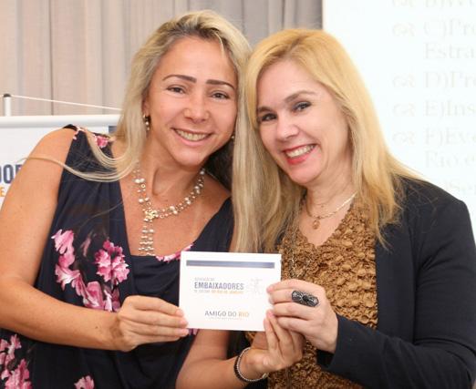 Claudia Cataldi e Marisa Araújo