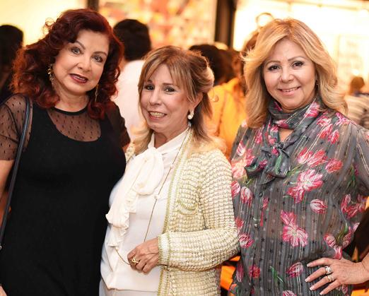 Claudia Rhamnusia, Viviane Cohen e Catia Garrido