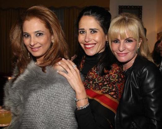 Cris Senna, Paula Severiano Ribeiro e Gigi Senna
