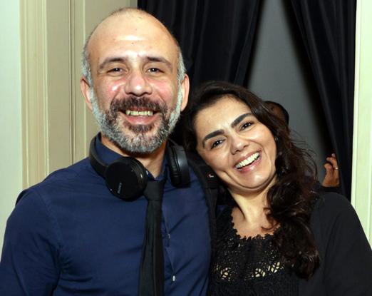 Daniel Gonzaga e Natalia Saade