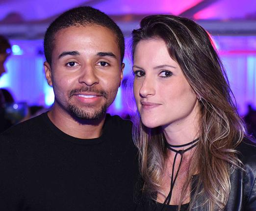 Dudu Melo e Alessandra Ferraz