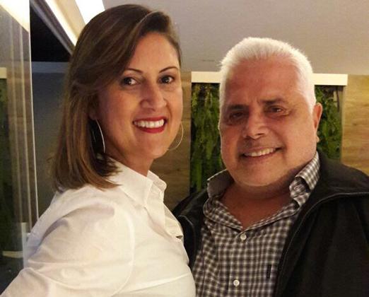 Elisa Rocha e Marcos Pascual