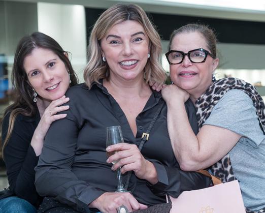 Evelyn Montesano, Adriana Calmon e Marininha Felfeli