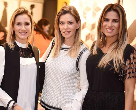 Fabiana Pacheco, Karina Nigri e Ana Paula Barbosa