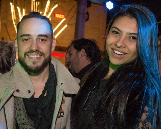 Fabiano Ribeiro e Jenifer Araújo