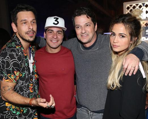 João Vicente de Castro, Thiago Martins, Marcelo Serrado e Nanda Costa
