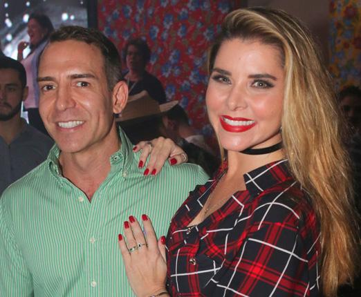 Leonardo Araújo e Bianca Marques