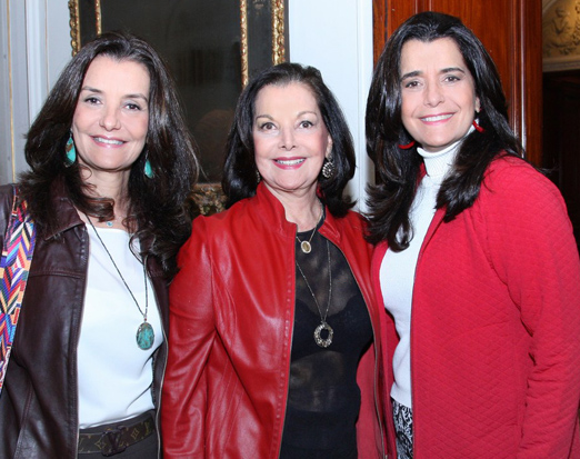Luciana Tostes, Sonia Noronha e Andrea Tupinambá