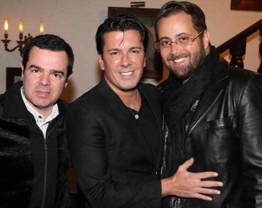 Luis Antonio Costa, André Ramos e Beto Bardawil