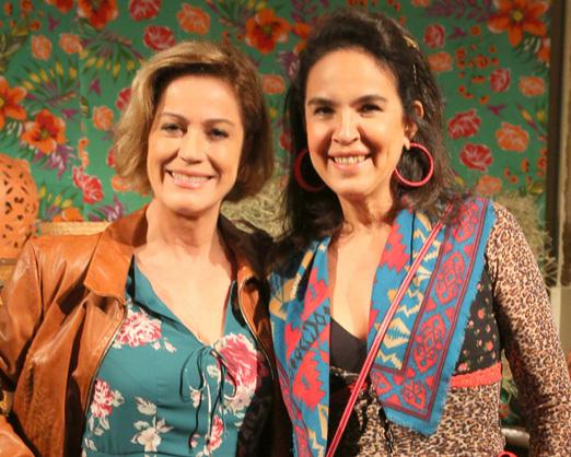 Márcia Peltier e Joy Garrido