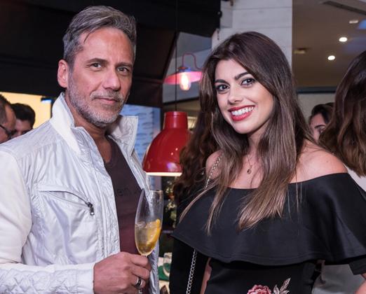 Marcelo Faustini e Nanda Andrade