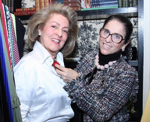 Margareth Padilha e Rosana Bernardes