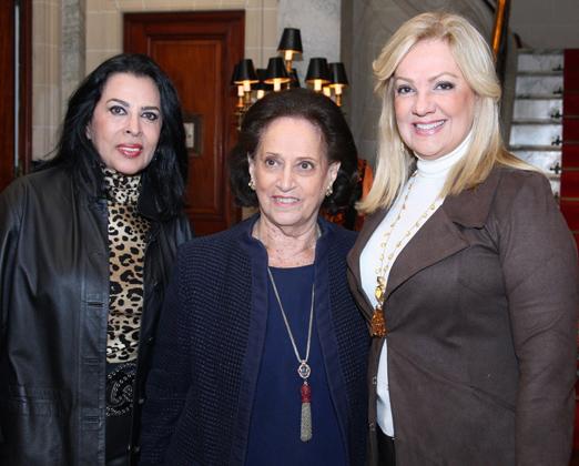 Maria Luiza de Mendonça, Belita Tamoyo e Alda Soares