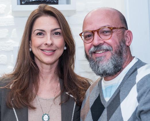 Mylene Peltier e Beto Neves