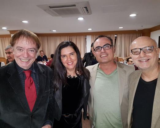 Paulo Barragat, Joana Teixeira, Christovam de Chevalier e Alberto Sabino