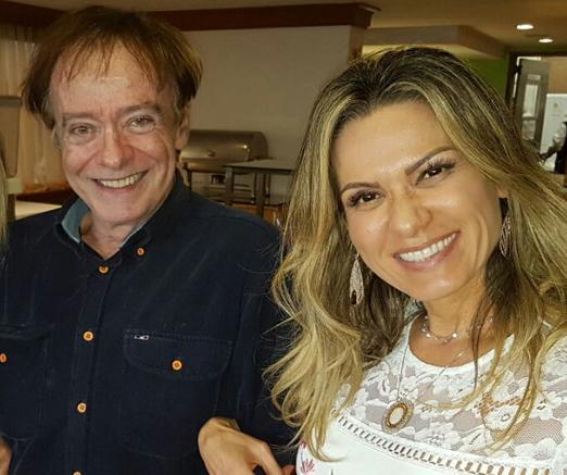 Paulo Roberto Barragat e Adriana Alves