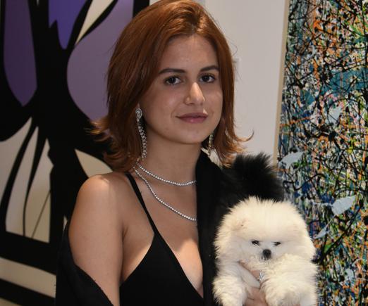 Rebeca Rique e a fofinha Ariel