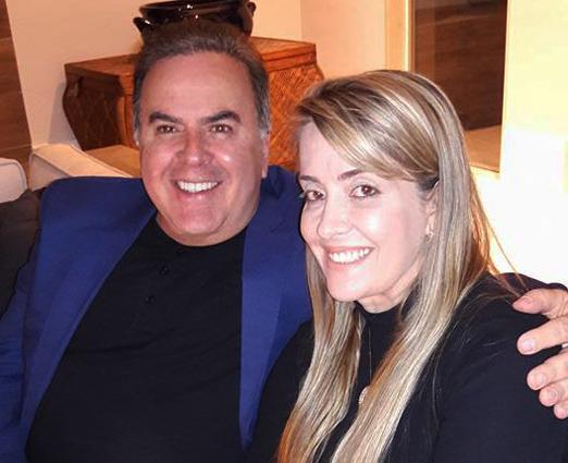 Ricardo Cavalcanti e Luciana Gouveia