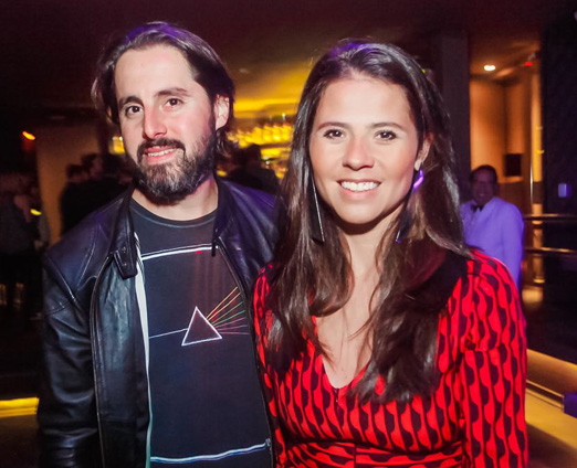Rodrigo Rocha e Tamara Pires