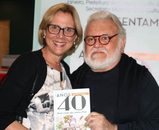 Sylvia Jane Crivella e Ricardo Amaral