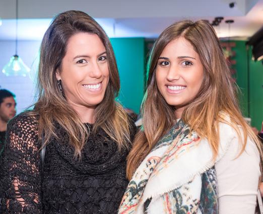 Tatiana Padilha e Julia Sampaio