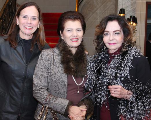 Teresa Calero, Roseana Motta e Vera Loyola