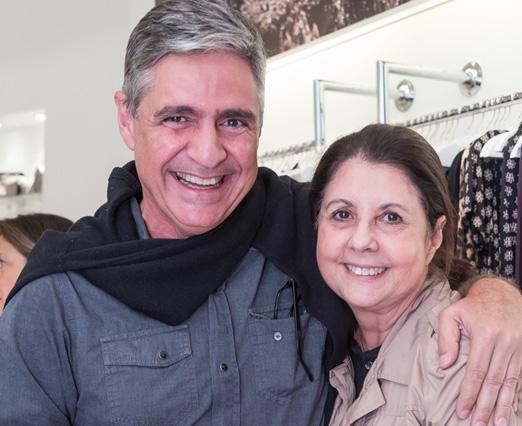 Toni Oliveira e Alice Tapajós