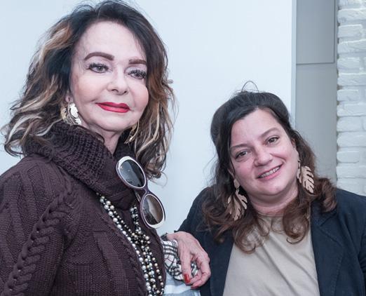 Vera Loyola e Vanessa Rivera