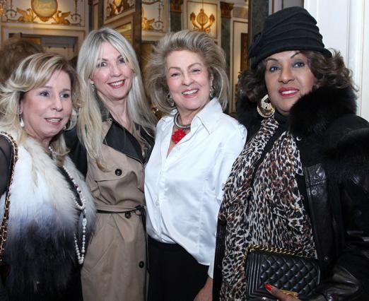 Viviane Cohen, Teresinha Matta, Margareth Padilha e Bete Suzano