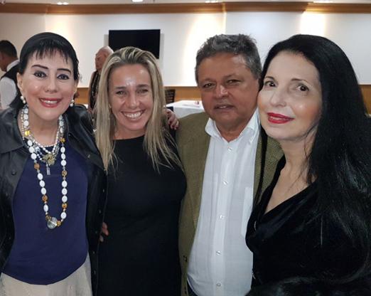 Yacy Nunes, Susana Madruga, Aloysito Teixeira e Cecilia Taunay