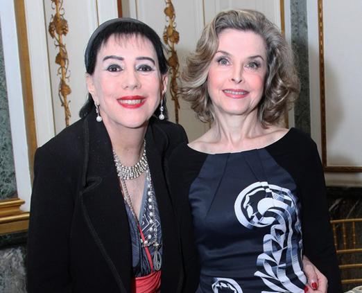 Yacy Nunes e Liane Mazzarone