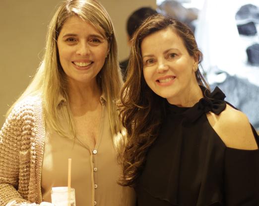 Ana Paula Bechara e Shirlei Maia