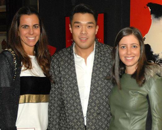 Andrea Bugarib, Yugo Mabe Jr e Luiza Hueb