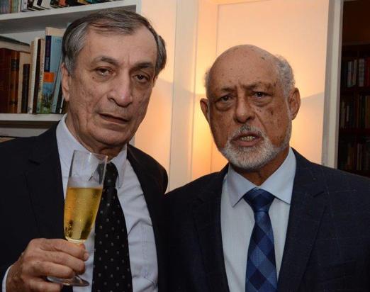 Antonio Cicero e Domício Proença Filho
