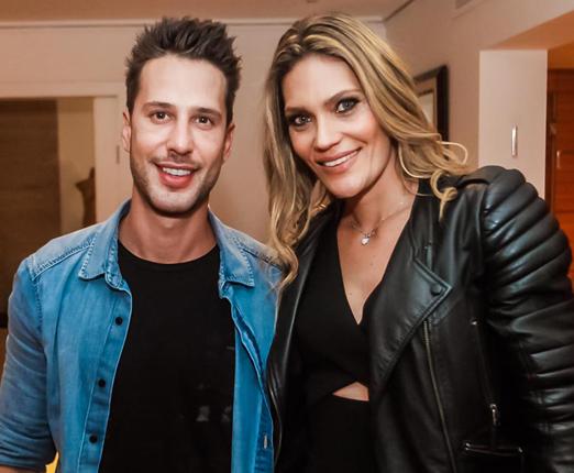 Caio Fischer e Sharon Duek