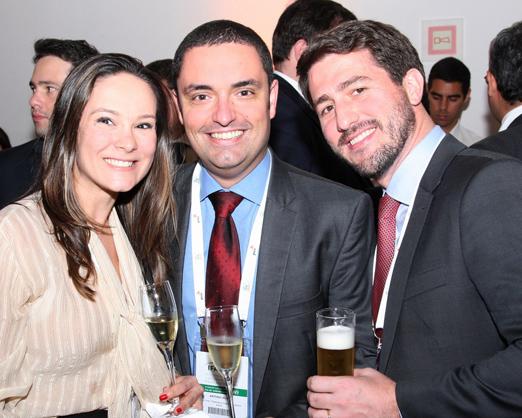 Camila Bacellar, Antonio Silva e Pedro Canto