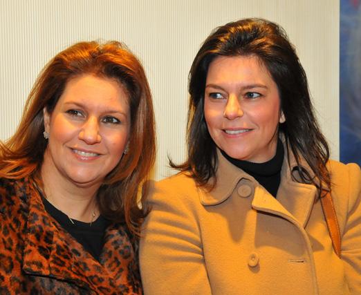 Cris Trussardi e Paula Vinson