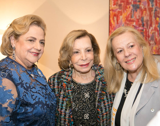 Cristina Aboim, Ilka Bambirra e Sueli Lobo Lima