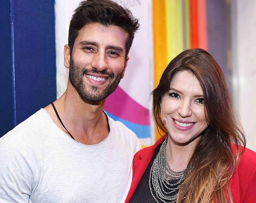 DJ Thiago Pedroni e Patricia Bzyl