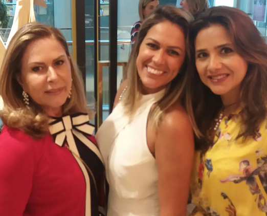 Dirce Motta, Bia Bottini e Ana Teresa Patrão