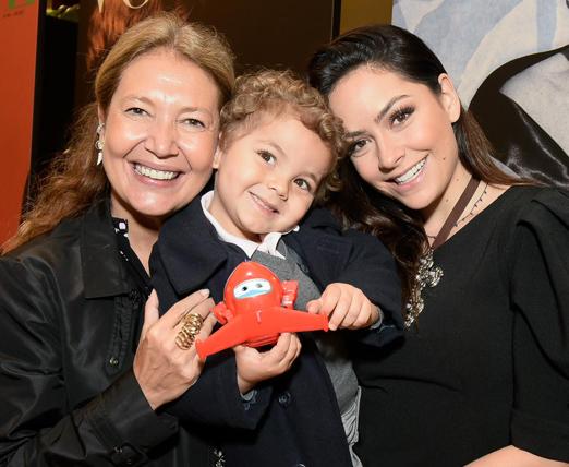 Donata Meirelles, Lu Tranchesi e o fofinho Antonio