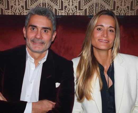 Felipe Diniz e Juliana Overmeer