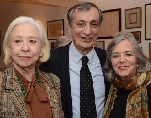 Fernanda Montenegro, Antonio Cicero e Rosiska Darcy de Oliveira