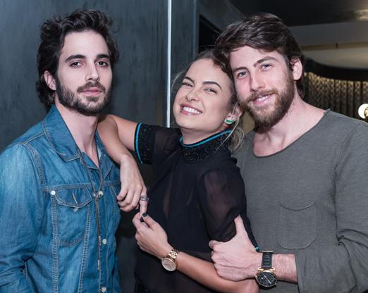 Fiuk, Lua Blanco e Pedro Nercessian