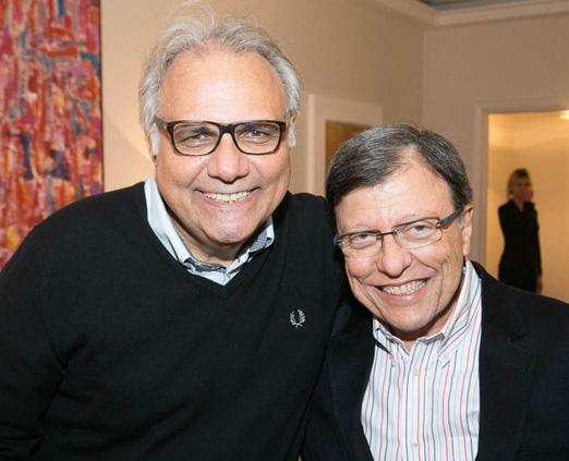 Franklin Toscano e Francisco Barreira