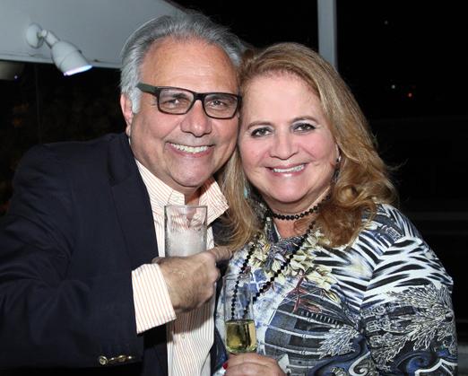 Franklin Toscano e Renata Fraga