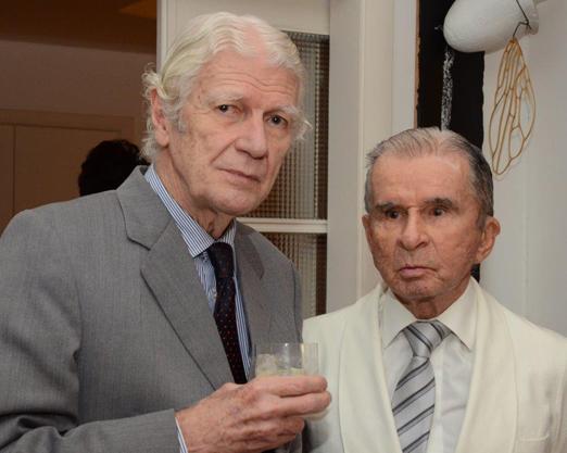 Geraldo Holanda Cavalcanti e Murilo Melo Filho